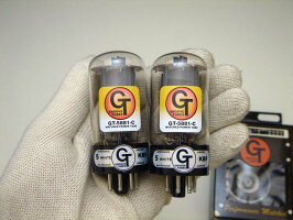 グルーブチューブ、5881C、パワー管、真空管、マッチドペア、6L6シリーズ