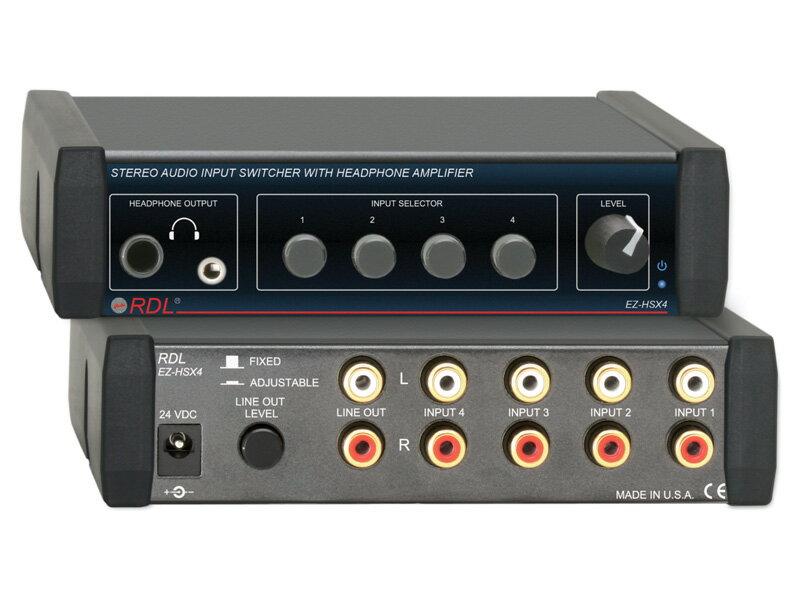 オーディオ, その他 RDL EZ-HSX4 4X1