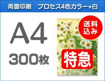 【特急便】A4クリアファイル300枚:クリアファイル・ファクトリー