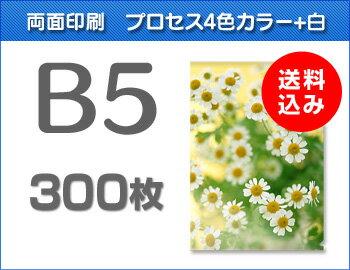 B5クリアファイル300枚