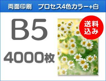 B5クリアファイル4000枚