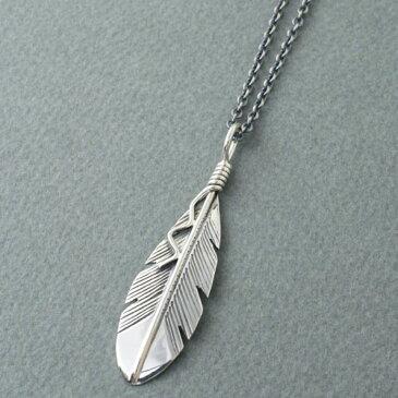 Joe Mace Eagle Feather Necklace small
