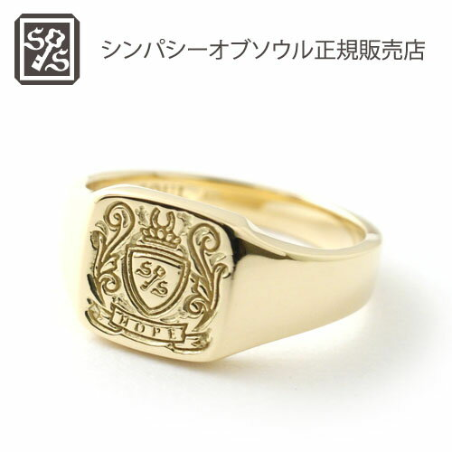 SYMPATHY OF SOUL Small Signature Ring - K18