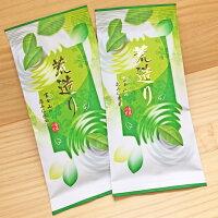 お茶 深蒸し茶 荒造り仕上げ 200g 日本茶 煎茶 緑茶 茶葉 100g×2