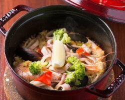 STAUB鍋で作った海鮮と若鶏のミックスパエリア 3袋セット