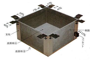 【送料無料!】【創巧野々田】L808ユニット式 炉壇うけ(炉壇取付用下地)(L801炉壇の下地に)