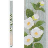 【予約】麻細タペストリー『姫沙羅』(掛軸、和風タペストリー)【春、初夏/ヒメシャラ】