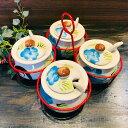 タイ製のニワトリ柄陶器・調味料入れ