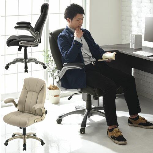 オフィスチェアー いす イス パソコン 椅子 揺れ リビング 書斎 パソコンチェア...