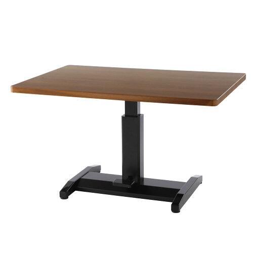 鏡面テーブル 昇降式テーブル 机 ダイニングテーブル 昇降テーブル センターテーブル リビングテー...