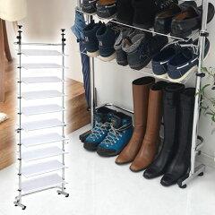 靴箱 つっぱり式シューズラック ストロングス【激安】つっぱり式シューズラック ストロングス...