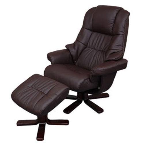 ロッキングチェアー オフィスチェア 椅子 リクライニングチェア いす イス 合皮 ポップデザイン ブ...