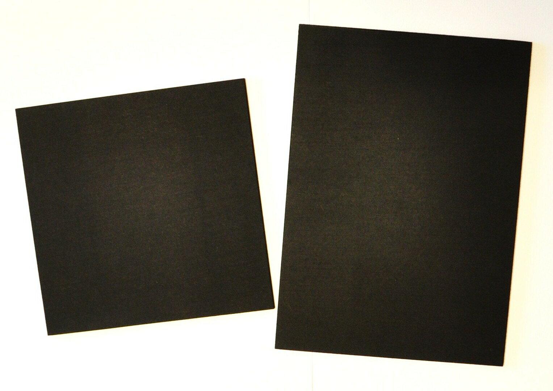 チョークアート専用ブラックボードA3【297mm×420mm】)厚さ4ミリなめらかな書き心地画像右です!!