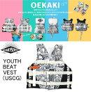 【QUAKYSENSE・クエーキーセンス】KIDS・キッズ・YOUTHBEATVEST・ライフジャケット(子供用)YV239
