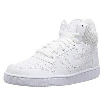 Nike(ナイキ) ウィメンズ コート バーロウ MID SL (111: ホワイト/ホワイト/ホワイト)