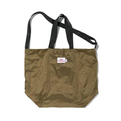 男女兼用バッグ, トートバッグ Battenwear() (Packable Tote) TanBlack