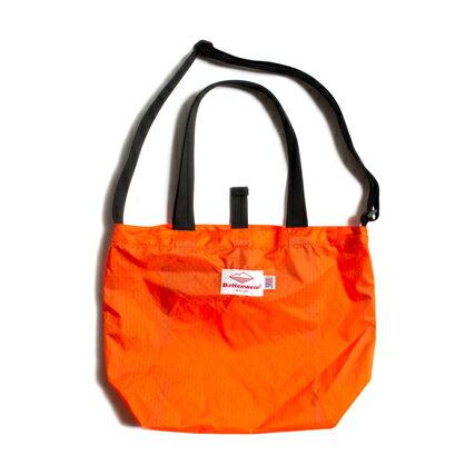 男女兼用バッグ, トートバッグ Battenwear() (Packable Tote) OrangeBlack