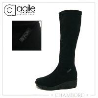 ルコライン,agile,アージレ,RUCOLINE,靴,ロングブーツ,ストレッチ素材,NENE,agile-307