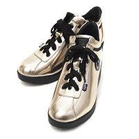 ルコライン,靴,アージレ,RUCOLINE,agile,CARTOCCIO,光沢,無地,ゴールド,サイドファスナー付,agile-033GO