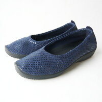 アルコペディコ・ARCOPEDICO靴・L15・バレリーナ・ジオ1(GEO1/ネイビー)