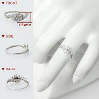【スウィート10結婚10周年記念】ダイヤモンドリング0.5ctプラチナ指輪