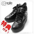 ルコライン 靴 アージレ RUCO LINE Baby Croco ベビークロコ ファスナー付 ブラック 黒 agile-112 RUCOLINE 新作/定番品 取扱店【 25.0cm(40サイズ)有ります】