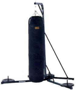 天井からつるせない場所に最適!160cmサンドバッグまで対応!安全設定で思う存分練習が出来る!...