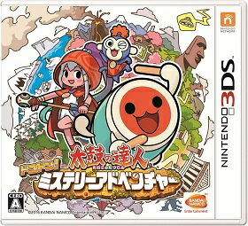 【新品】3DS 太鼓の達人 ドコドン!ミステリーアドベンチャー【ネコポス発送。送料無料。着日指…