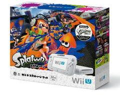 【新品】WiiU スプラトゥーン セット特典:GamePadアクセサリー3点パック付
