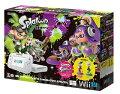 【新品】WiiUスプラトゥーンセット(amiiboアオリ・ホタル付)GamePadアクセサリー3点セットパック発売日7月7日。発売日前日発送