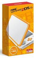 【新品】NEWニンテンドー2DSLLホワイト×オレンジ【予約】7月13日発売。発売日前日発送。