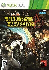 【新品】XBOX360MAXANARCHY(マックスアナーキー)【ゆうパケット発送可。送料¥200。着日指定・代引き不可】