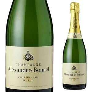≪決算特価 半額≫アレクサンドル ボネ ミレジム [2010] 750ml[シャンパン][シャンパーニュ]][champagne Alexandre bonnet]