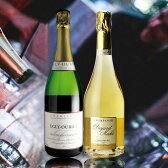 【送料無料】エグリウーリエ入特選シャンパン2本セット