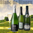 【送料無料】すべてブラン・ド・ブラン!特選シャンパン3本セット