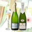 【送料無料】ドラモット&シマールモロー高品質シャンパン2本セット