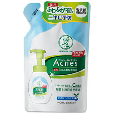 アクネス 薬用泡洗顔 付け替え 140ml