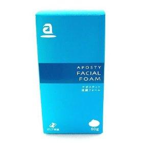 【3/15(金)当店全品ポイント5倍!24H限定セール】アポスティー洗顔フォーム60g【ラッキーシール対応】