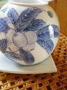 【三川内焼・平戸松山窯】お茶の香りを楽しみましょ♪染付枇杷茶香炉 - 無農薬有機栽培茶専門店【茶の間】