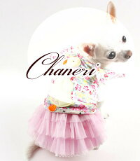 【メール便無料】犬服/チュールレースのチュチュスカート