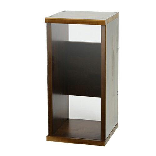 アクロ キャビネット 3030 ブラウン 透明ガラスパネル 30cm水槽用 水槽台
