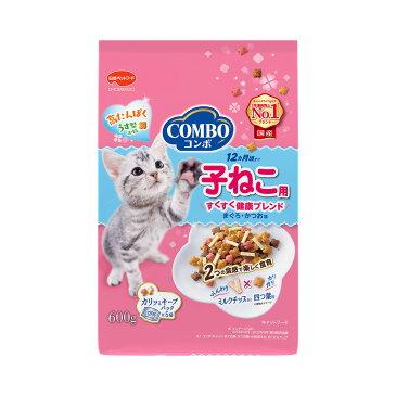 日本ペット コンボ キャット 子ねこ用 ミルクチップ添え 600g(120g×5パック入り) 関東当日便