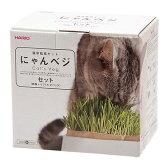ハリオ 猫草栽培キット にゃんベジ セット 関東当日便