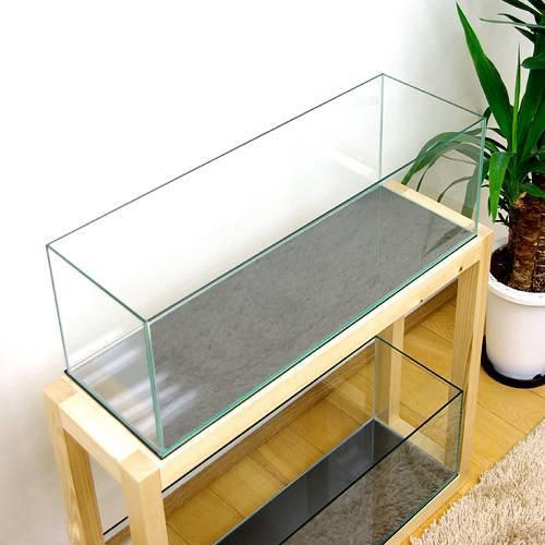 GLASIA カウンター GL-600C 60cmスリムオールガラス水槽(60×20×20cm)(5mm)