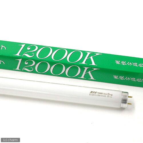 交換球 興和 水草(植物)・熱帯魚専用蛍光ランプ 12000K 20W 水槽用照明 ライト