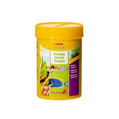 アクア用品2>餌/給餌器>肉食魚・大型魚セラ FD クリル 100ml/15g 関東当日便