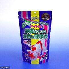 アイドル 野菜が入った金魚の健康食 特小粒 (浮上性) 300g 関東当日便