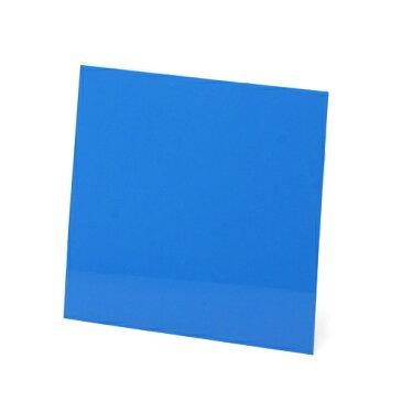 30cmキューブ水槽用 丈夫な塩ビ製バックスクリーン 30×30cm 青 スカイブルー 関東当日便