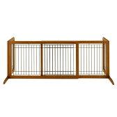 リッチェル 木製おくだけゲート ワイド ブラウン 犬・ペット用 ゲート 柵 フェンス 関東当日便