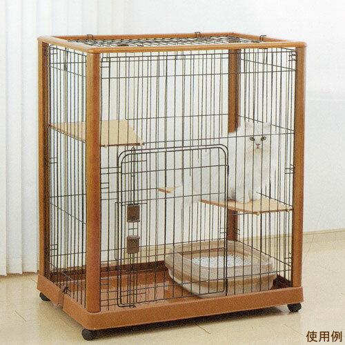 (大型)リッチェル 木製ケージ 940H 猫用 ゲージ ケージ サークル 段 別途大型手数料・同梱不可・代引不可:charm